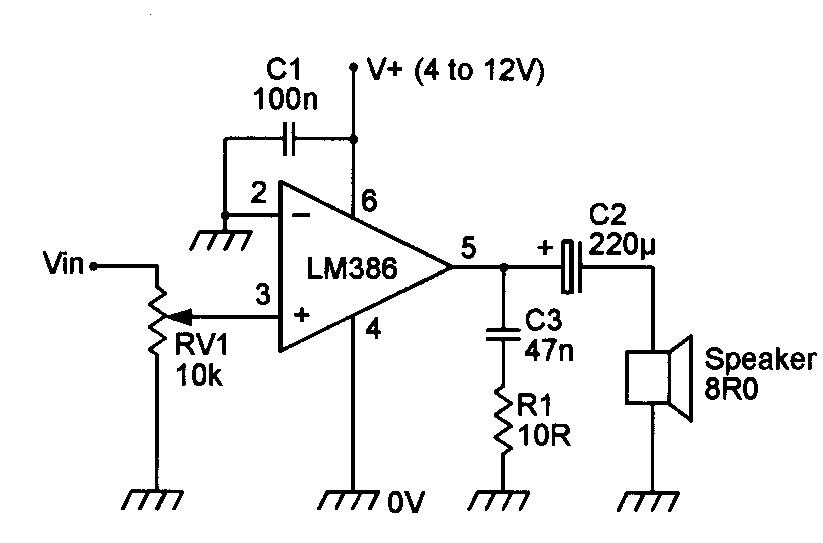 amp-audioLM386